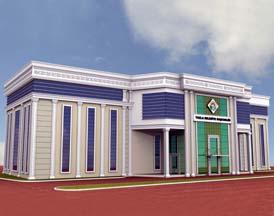 Tuzla Belediyesi Ek Hizmet Binası Projesi