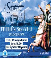 Fethin 568. Yılı Programı