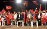 15 Temmuz Destanı kapsamında 11 Temmuz'da şehitlikler, şehit ve gazi aileleri ziyaretleri ile başlayan anma etkinlikleri, 16 Temmuz akşamı Tuzla sahil meydanında okunan dualarla tamamlandı.