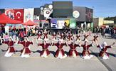 """Tuzla Belediye Başkanı Dr. Şadi Yazıcı'nın """"Eğitim Kenti Tuzla"""" vizyonuyla hizmet veren Tuzla Belediyesi Bilgi Evleri, 29 Ekim Cumhuriyet Bayramı'nın 95. yıldönümüne özel atölye çalışması şenliği düzenledi."""