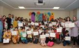 Tuzla Belediyesi Bilgi Evleri Yaz Okulu düzenlenen veda şenliği programı ile sona erdi.