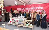 Tuzla Belediyesi Gönül Elleri Çarşısı, 4.sü düzenlenen Gisbir Boat Show Tuzla Fuarı'na katıldı.