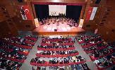 Tuzla Belediyesi Gençlik Merkezi Türk Halk Müziği Topluluğu, bağlama kursiyerleri ile birlikte konuklarına türküleriyle seslendi. Çok sayıda izleyiciye ev sahipliği yapan gençler, başarılı sahnesiyle unutulmaz bir geceye imza attı.