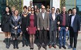 Tuzla'da Mevlana İlkokulu'nun ev sahipliğinde sürdürülen Comenius Projesi'nin yurt dışındaki ortakları, Tuzla Belediyesi'ni ziyaret etti.