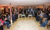 Türkiye'nin ilk gemi gençlik merkezi olan Tuzla Belediyesi Mehmet Akif Ersoy Gençlik Gemisi, sıra gecesine ev sahipliği yaptı.