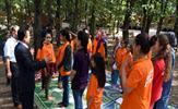 Tuzla Belediyesi'nin kardeş ilçeleri Van'ın Saray ve Özalp ilçesi ile Diyarbakır'ın Silvan ilçesinden gelen kızlar, Tuzlalı yaşıtlarıyla birlikte Şehit Ömer Halisdemir Gençlik Kampı etkinliklerine katıldı.