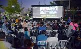 """Tuzla Belediyesi tarafından ücretsiz düzenlenen """"Açık Hava Sinema Günleri"""", Tuzla Belediyesi Şelale Eğitim Parkı'nda başladı."""