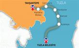 Pendik - Kaynarca - Tuzla metro hatlarının yapım çalışmaları İstanbul Büyükşehir Belediyesi tarafından yeniden başlatılıyor.
