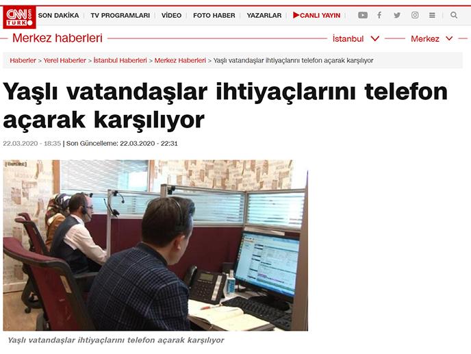 Yaşlı vatandaşlar ihtiyaçlarını telefon açarak karşılıyor