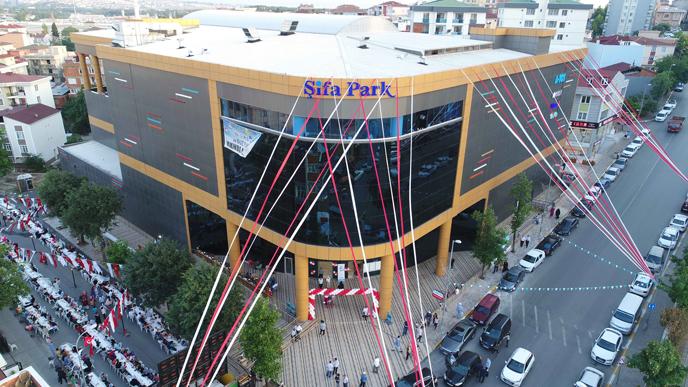 Şifa ve Mimarsinan Mahallesi'nin Sosyal Yaşam Merkezi: Şifa Park Alışveriş Merkezi
