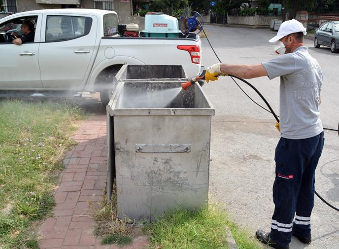Tuzla Belediyesi, Sivrisinek Mücadelesinde Modern Yöntemlerle İlaçlama Yapıyor