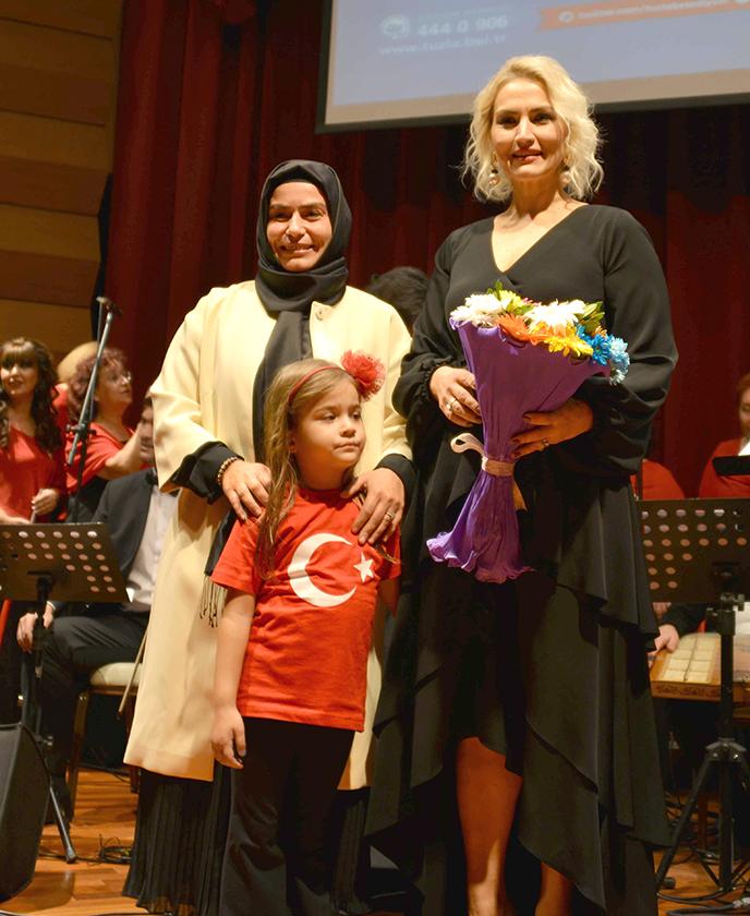 Tuzla Belediyesi TSM Topluluğu, Cumhuriyet Bayramı Özel Konseri Düzenledi