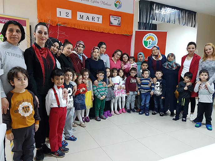 Tuzla Belediyesi Anne Çocuk Eğitim Merkezi, Milli Şairimizi Andı