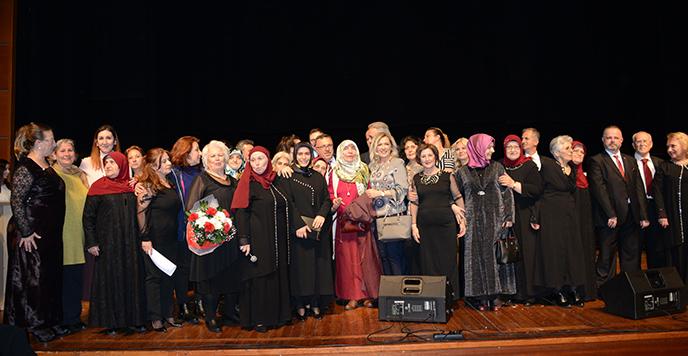 Tuzla'nın Çınarları, Yaşlılar Haftası'na Özel Konser Düzenledi