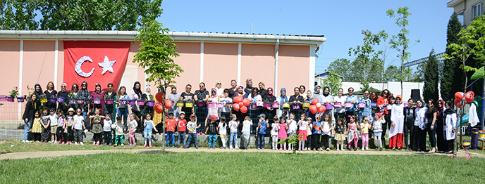 Tuzla Belediyesi Anne Çocuk Eğitim Merkezi 'Anne Çocuk Şenliği' Düzenledi