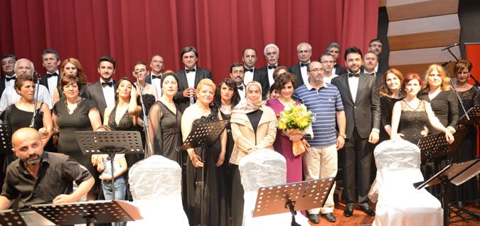 Tuzla Belediyesi THM Korosu'ndan Unutulmaz Konser
