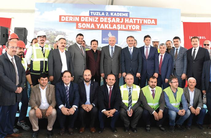 Tuzla Belediyesi 2. Kademe Derin Deşarj Hattı